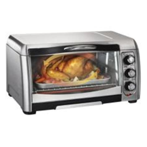 6 Slice Toaster Oven On Sale Hamilton Easy Reach Convection Toaster Oven 6 Slice