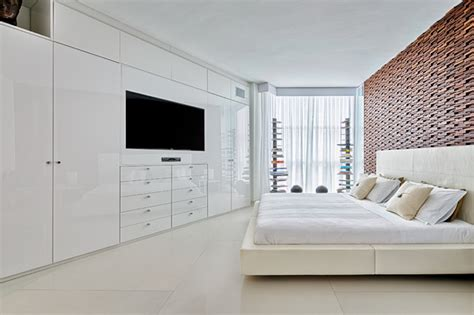 Home Decor Showrooms Wardrobe Tv Unit Contemporary Bedroom Miami By
