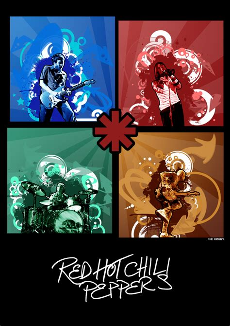 red hot chili pepper poster watercolor art red kitchen redhotchilipeppers poster by th3zephyr on deviantart