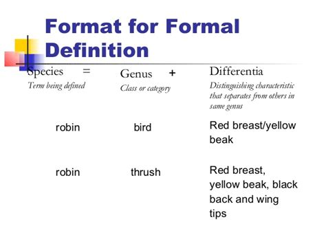 Formal Essay Definition by Best Practices For Creating Definitions In Technical Writing And Edit