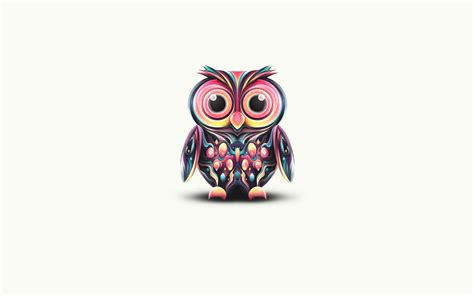 Colorful Owl Wallpaper | free owl wallpapers wallpaper cave
