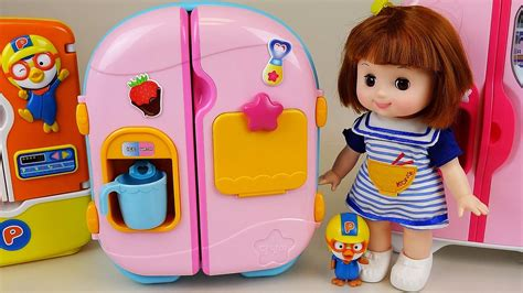 annabelle doll buy india baby doll refrigerator and food toys play