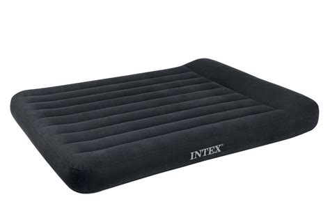 intex classic pillow rest airbed air mattress bed w built in 66777e ebay