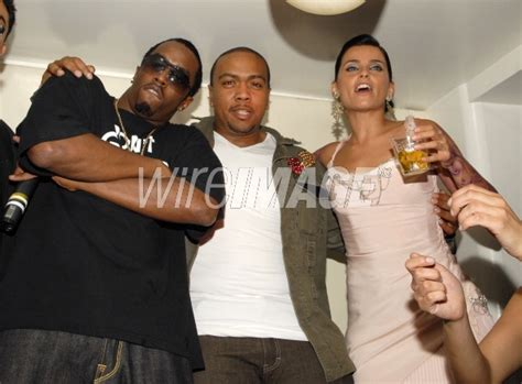 Vs Timbaland An Mtv Showdown by P Diddy Combs Timbaland And Nelly Furtado During 2006
