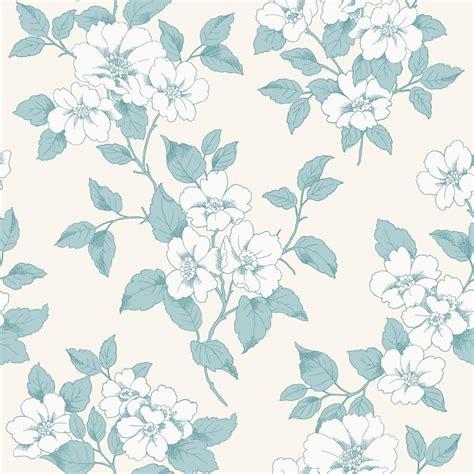 flower pattern texture new rasch jardin floral leaf pattern silver teal flower