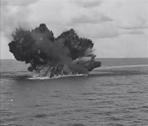 Hms Barham Sinking by Hms Barham Sinking To The Sea In Ships