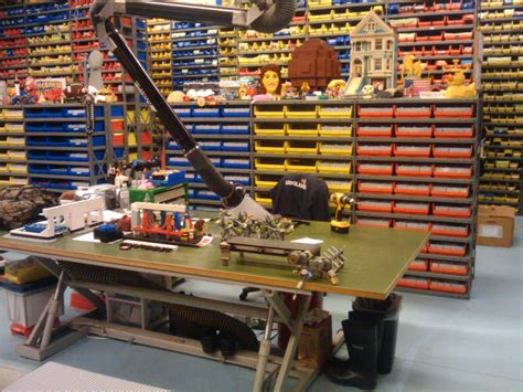 my workbench this is my desk workbench at legoland