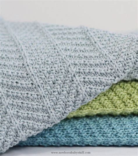 Knitted Baby Blankets Pattern by Baby Knitting Patterns Knitting Pattern For 4 Row Repeat