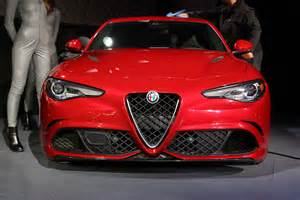 Alfa Romeo Giulia Alfa Romeo Giulia Giulia Quadrifoglio Pricing Announced