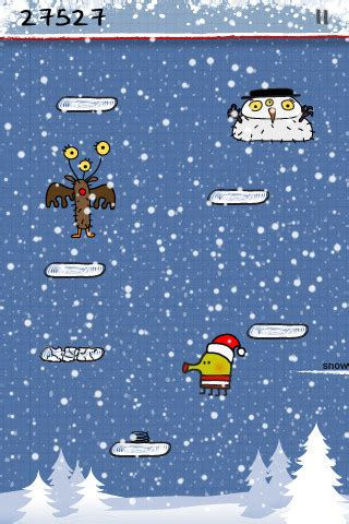 doodle jump blizzard doodle jump is updated with new blizzard world