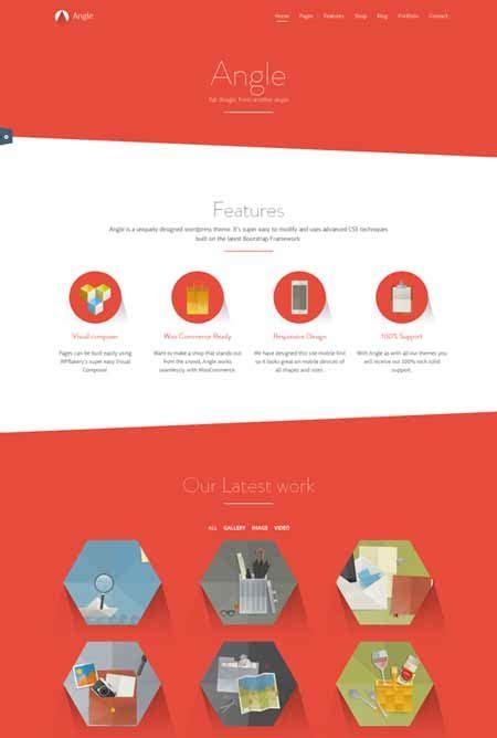 bootstrap themes angle 40 free wordpress themes with bootstrap 2018 freshdesignweb