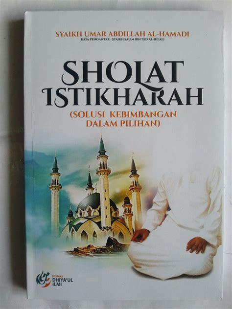 buku shalat istikharah toko muslim title