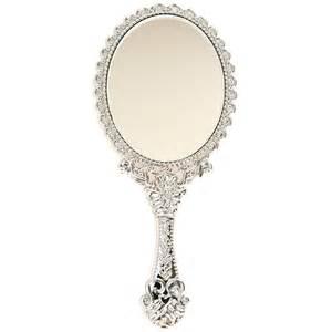 Hand Held Vanity Mirror Girls Vintage Style Mini Vanity Hand Held Mirror Cute