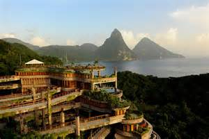 jade mountain st lucia images