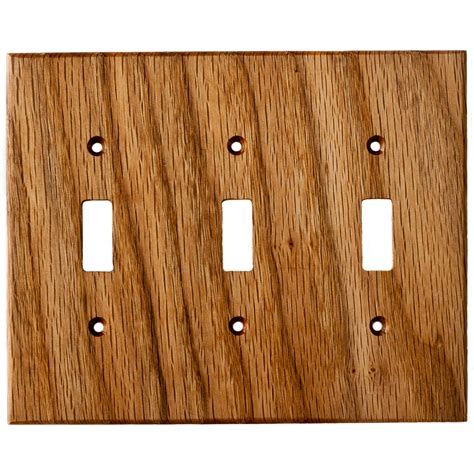 white wood light switch covers oak wood wall plates 3 light switch cover