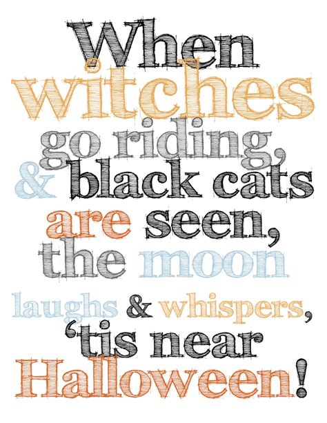 free printable halloween quotes halloween printables motivational lyrics pinterest