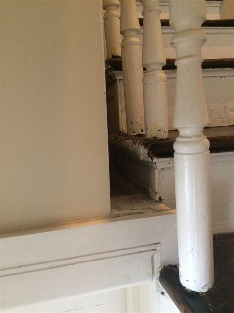 how could i address this dead space between my stair case