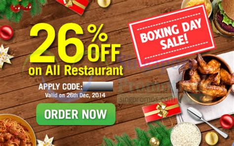 room service singapore food delivery room service food delivery 26 boxing day coupon code 26 dec 2014