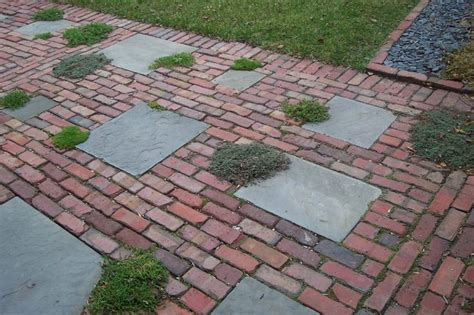 granite clay and brick pavers traditional patio