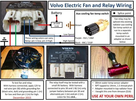 bmw e36 electric fan wiring volvo electric fan wiring