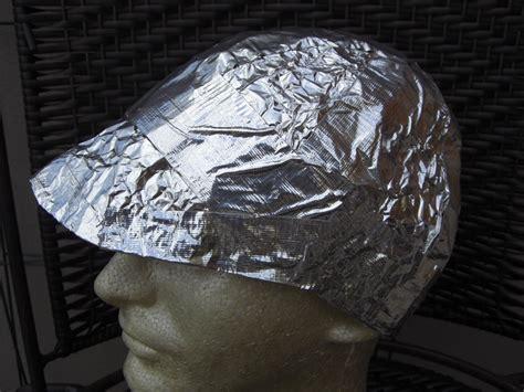 Aluminium Foil Hati gleeza the tin foil cap