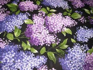 Flowers Baking - lilac fabric newenglandgardenandthread