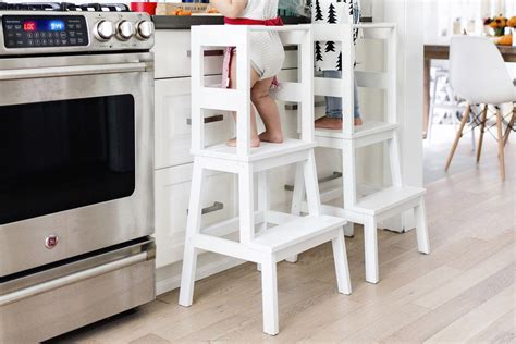 ikea hack kitchen helper ikea hack toddler learning tower stool happy grey lucky