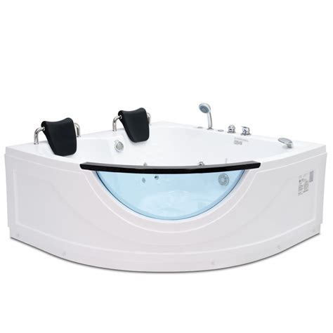 two person whirlpool bathtub shop northeastern bath 2 person white acrylic corner