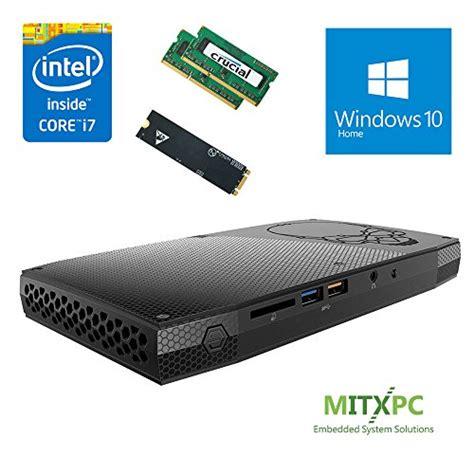Intel Nuc Skull I7 Ram 32gb Ssd M 2 120gb Win 10 Pro intel boxnuc6i7kyk 6th i7 6770hq skullcanyon nuc w 32gb ddr4 512gb ssd windows 10