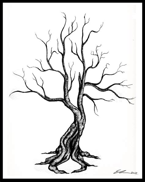 twisted tree tattoo designs twisted dead tree clipart best
