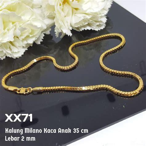 Harga Kalung Chanel Emas cek harga baru z205 cincin branded chanel set perhiasan