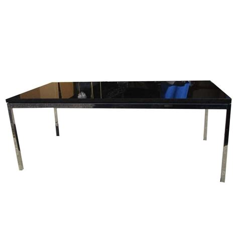 45 quot vintage florence knoll coffee table with chrome base