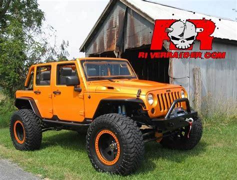 jeep beadlock wheels orange jeep jk with matching beadlocks wheels