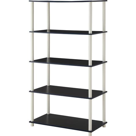 bookcase and organizer no tools assembly 8 cube shelving storage unit shelves