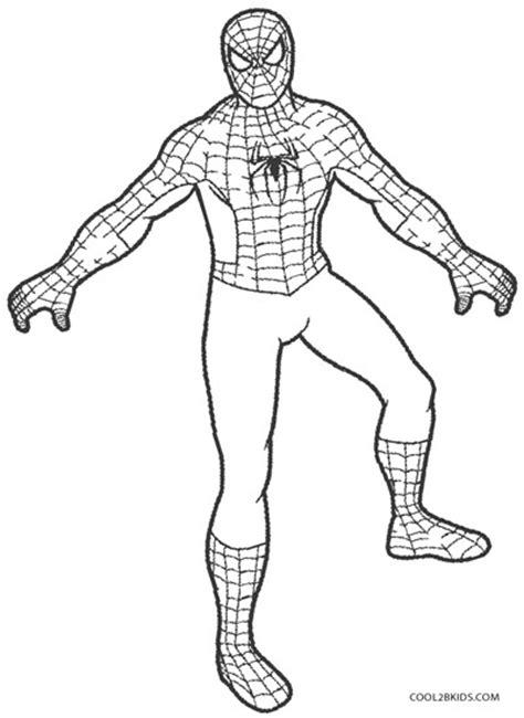 free coloring pages of spider man logo