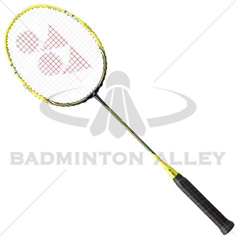 Raket Nanoray Speed yonex nanoray speed nrsp flash yellow badminton racket