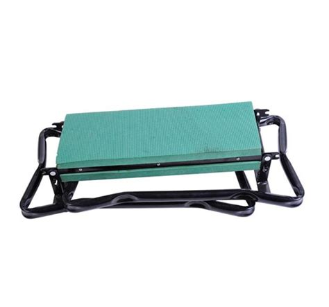 kneeler bench outsunny folding garden kneeler bench chair green