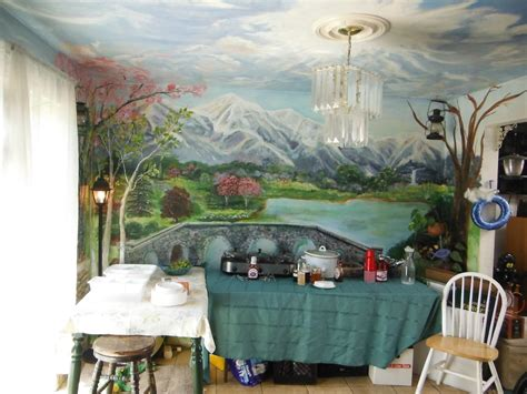 room mural made kitchen dining room mural floor to ceiling by murals by dori just faux you