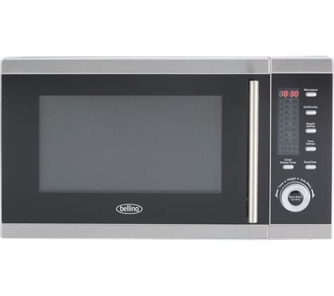 Microwave Grill buy belling fm2590g microwave with grill stainless steel