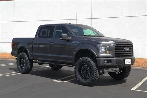 ford truck lifted living the high life seven inch lift on 2015 ford f 150