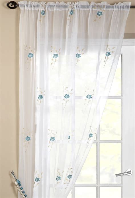 teal net curtains dorset unlined teal voile panel woodyatt curtains stock