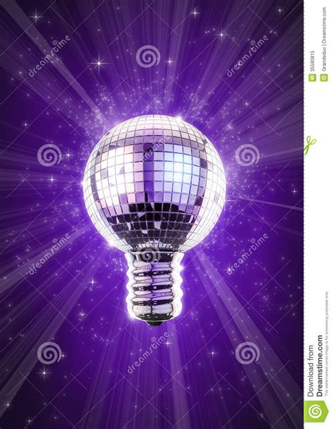 Disco Light Bulb by Disco Bulb Royalty Free Stock Photo Image 35580815