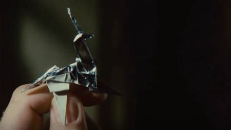Blade Runner Origami - here s how to make the origami figures from blade runner