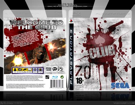 Ps3 The Club the club playstation 3 box cover by elcrazy