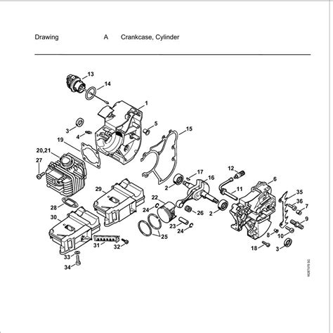stihl ms200t parts diagram buy a stihl ms200t spare part or replacement part for your