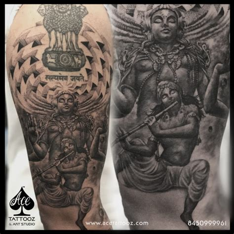 vishnu tattoo best studio in mumbai india ace tattooz studio