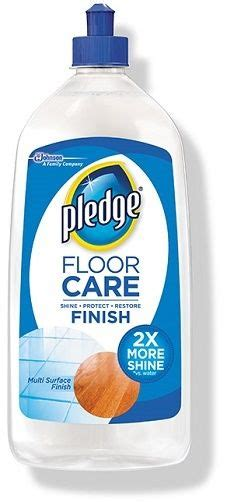 Pledge Floor Care Finish 2X More Shine