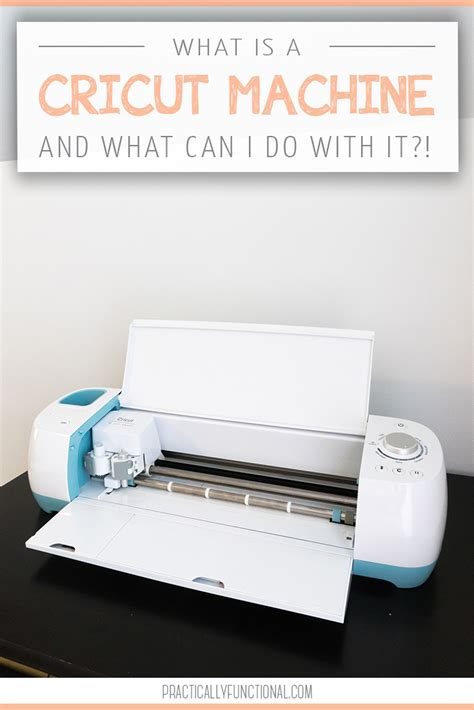 What Is A what is a cricut machine what can i do with it