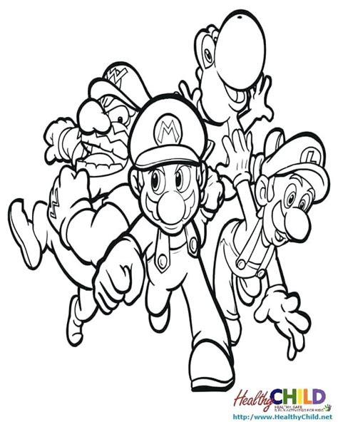 Coloring Pages 4u by Coloring Pages 4 U Mario 99 Colors Info