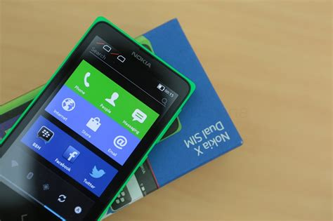 nokia android nokia x unboxing in india
